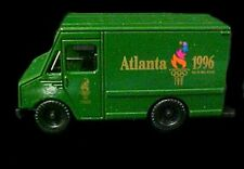 1996 Atlanta Olympics Die Cast Metal Delivery Paneled Truck with DisplayCase New