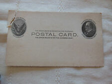 RARE POST CARD 1901-1909 ONE CENT MCKINLEY