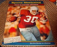 Sports Illustrated  December 14 1970 Woo Woo Worster Texas Slaughters Arkansas