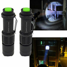 Mini Zoomable 1000LM 5 Mode Flashlight Waterproof Tactical Torch Light