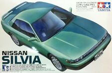 Tamiya 24078 1/24 Scale Model Sport Car Kit Nissan Silvia S13 K's Series