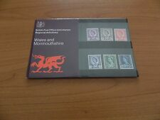 1970 WALES DEFINITIVES 3d to 1/6 PRESENTATION PACK ( No 24 ) IN MINT CONDITION