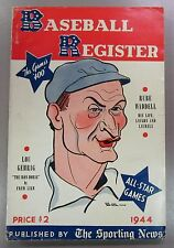 1944 The Sporting News Baseball Register