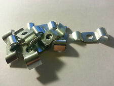 10 X BRAKE PIPE CLIPS CLAMPS ACCEPTS 3/16 & 5/16 EACH SIDE part 243395
