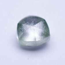 0.27 CARAT FLAWLESS FANCY VIVID GREEN MACKLE ROUGH DIAMOND NATURAL UNTREATED