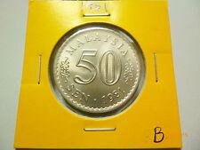 Malaysia 50 Sen (1981) Parliament Coin - BU