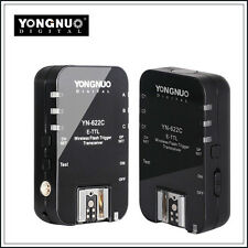 Yongnuo YN-622C Wireless TTL Flash Trigger for Canon 7D 5DII 5DIII 1DIV 1DIII