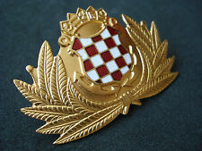 Croatia army, Navy officer hat badge; military
