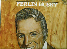 FAVORITES OF FERLIN HUSKY LP 12 GREAT SONGS - WINGS OF A DOVE & GONE