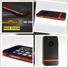Cubierta de Rock Original Apple iPhone 7 caso híbrido Flex & Rígido Tpu tech Naranja