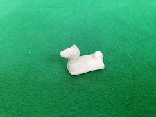 Vintage Marx Dollhouse Miniature Ivory Plastic Horse Floatie For Swimming Pool