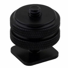 1/4″ Inch Tripod Mount Screw To Flash Camera Hot Shoe Adapter