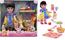 My First Disney Princess 15 in Snow White's Picnic Party Doll Set NEW
