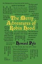 The Merry Adventures of Robin Hood (Word Cloud Classics), , New Book