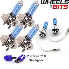 2x H7 H3 H7 55w halógeno HID Xenon Bombillas llenos de gas hasta 50% más de brillo azul frío