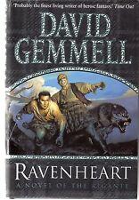 David Gemmell RAVENHEART Bantam 2001 First Edition hardcover / Rigante 3