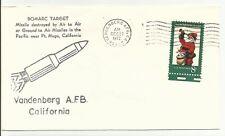 ROCKET COVER BOMARC TARGET VANDENBERG AFB, CA 12/27/72
