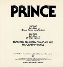 Prince Lets Work 2 mixes  Dj USA 12""
