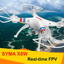 Syma X8W Explorer RC Quadcopter Drone WIFI FPV 6-axis Gyro 2MP Camera RTF White