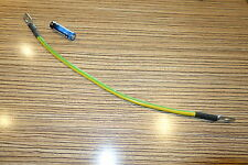 Erdkabel mit 2x8 mm Ringösen für Motorradbatterie. Kabel für Auto Batterie 40 cm