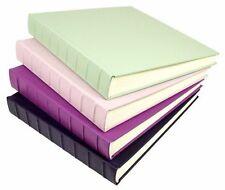 LAST ONE Under Cover Jumbo Luxury Lapsang Leather Photo Album in Grape  GIFT BOX