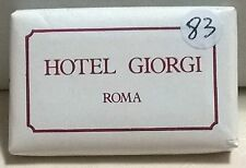 SAPONETTA HOTEL GIORGI  - ROMA - RETTANGOLARE g.14 -  INCARTATA - N. 83
