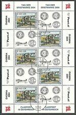 ÖSTERREICH/ Flugzeuge-Tag der Briefmarke MiNr 2482 o KB mit Ersttagstempel