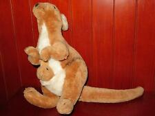 "12"" Dakin 1975 Kangaroo Plush Stuffed Animal Vintage Figure Doll Joey Baby Mom"