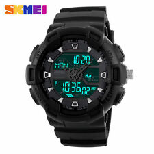 Montre Sport SKMEI Fashion Homme Multifonctions Led Etanche 50M Men Watch PROMO