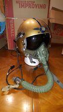 Original USN APH-5 jet pilot helmet complete with MS22001 mask