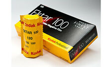 3 Rolls Kodak Ektar 100 120 Pro Color Negative Film Exp. 8/2018