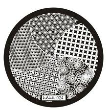 Nail Art Image Stamp Stamping Plates Manicure Steel Template Hehe Series New^