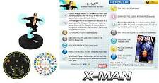 X-MAN #051 #51 Wolverine and the X-Men Marvel Heroclix Super Rare