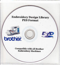 36,000+ PE Brother máquina Embroidery Designs & Catálogo A Todo Color