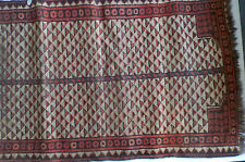 VINTAGE ISLAMIC MUSLIM TURKISH PRAYER RUG FROM BALOCHISTAN TURKEY