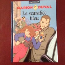 "Marion Duval ""Le Scarabee Bleu"" - Comic Book in French Languagee"