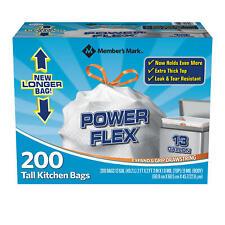 Handi-Bag Super Value Pack Trash Bags 30gal 30 x 33 Black 60//Box Reg$14.95