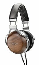 Denon Hi-res Sealed Dynamic Type Headphone AH-D7200 Wood Color New in Box
