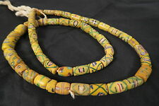 Alte Handelsperlen 70cm Murano Glasperlen Antique African trade beads Afrozip