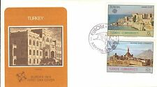 TURKEY FIRST DAY COVER 1978 EUROPA