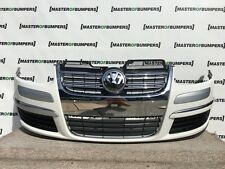VW GOLF ESTATE AND JETTA 2005-2011 FRONT BUMPER IN WHITE COMPLETE [V311]