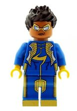 Custom Minifigure Static Shock (Virgil Orvid Hawkins) Printed on LEGO Page