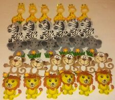 30pcs Baby Shower Safari Animals Decoration Girl/Boy