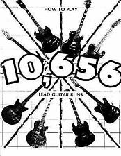 How to Play 10,656 Lead Guitar Runs : With 888 Easy to Read Diagrams by Jerry...