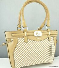 New Stylish 100% Original Handbag GUESS Mauritus Satchel Bag Camel Multi