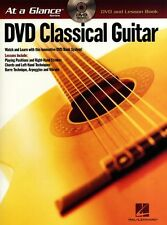 At A Glance Classical Guitar Learn Play Beethoven Corelli TAB Music Book & DVD