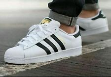 ADIDAS SUPERSTAR WHITE AND CORE BLACK SHOES FOR MEN