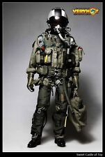 1/6 Very Hot Action Figure Set - US Navy Seal VFA-41 BlackAces Pilot Suit Ver.