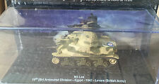 "DIE CAST TANK "" M3 LEE ARMOURED DIVISION EGYPT 1942 "" BLINDATI 037 1/72"