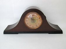 Vtg Warren Telechron 6B07 Mantel Shelf Chiming Strike Clock Art Deco Face